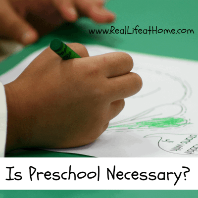 Do kids need preschool before they enter Kindergarten? What does early education look like?