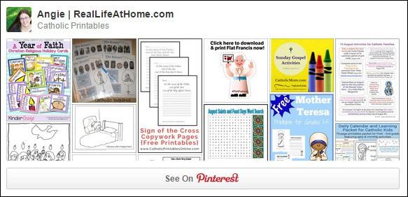 Catholic Printables on Pinterest
