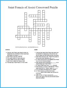 photo regarding St Patrick's Day Crossword Puzzle Printable titled Saint Patrick Crossword Puzzle Totally free Printable 2 Styles