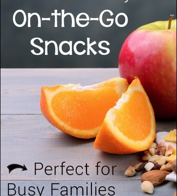 Quick and Easy On-the-Go Snacks - Perfect for Busy Families!