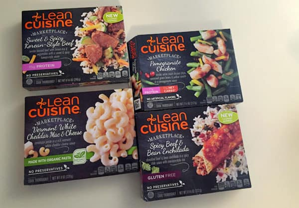 Lean Cuisine new meals from the Marketplace line