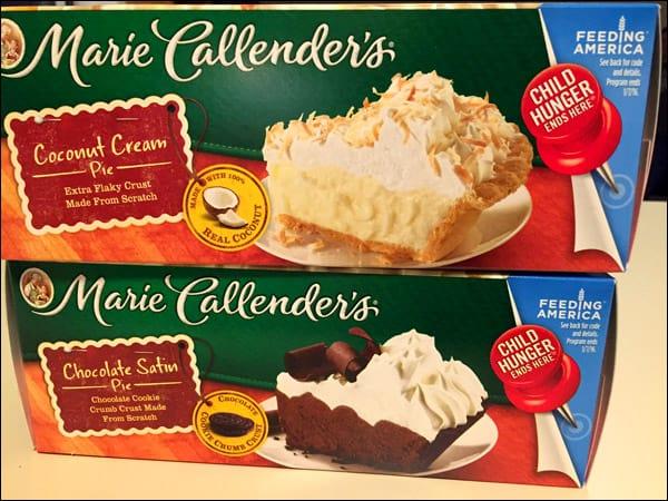 Marie Callender's homemade desserts