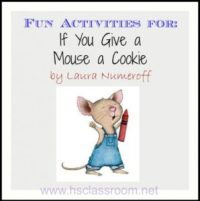 If You Give a Mouse a Cookie Activities