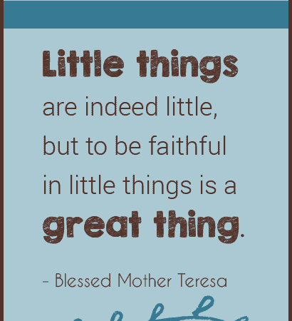 Blessed Mother Teresa: Inspiration from Her Words and Deeds