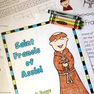 St. Francis of Assisi Printables and Worksheets for Kids