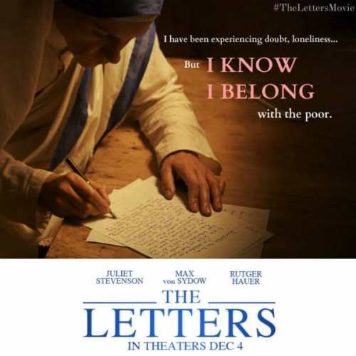 The Letters - a movie about Blessed Mother Teresa