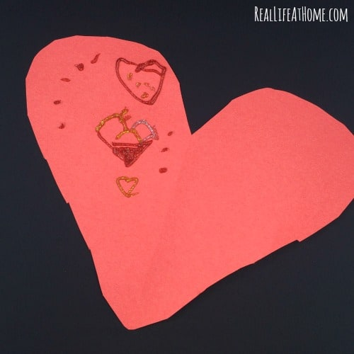 Valentine Symmetry Craft Design