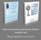 Communion and Reconciliation Printables, Banner Patterns, and Activities Two eBook Bundle