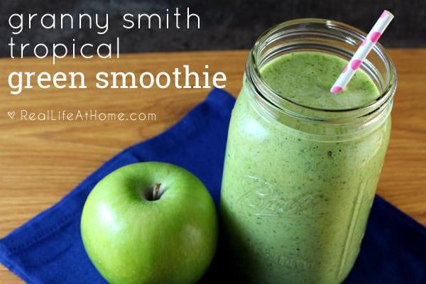 Granny Smith Tropical Green Smoothie Recipe