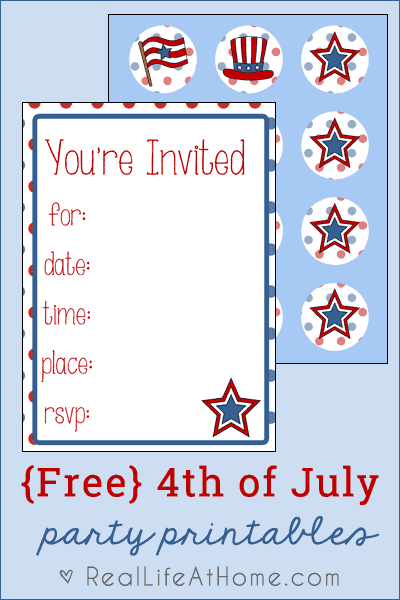 It is an image of Free Printable Patriotic Invitations intended for clip art