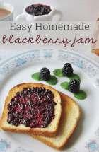 Easy Homemade Blackberry Jam