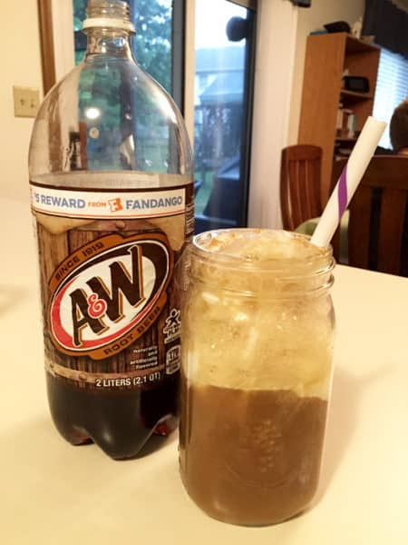 The simple deliciousness of an A&W Root Beer Float