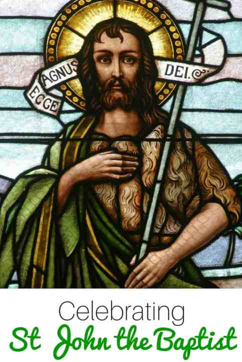 Looking for ideas to help you celebrate St John the Baptist? You'll find crafts, books, recipes, movies, printables and more!