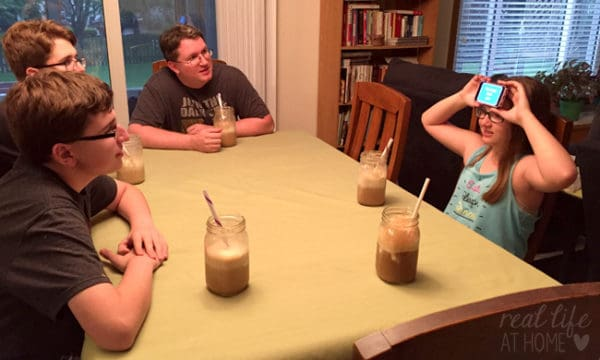 Embracing Simple Family Fun with a Funny Game, Time Spent Together, and A&W Root Beer Floats