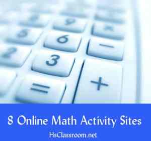hsclassroom-math-activities
