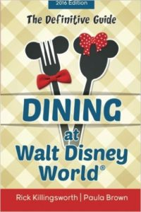 A book all about dining at Walt Disney World