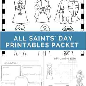 Catholic Printables Index Page