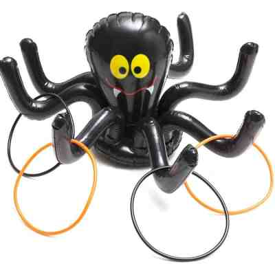 Halloween Spider Ring Toss Game