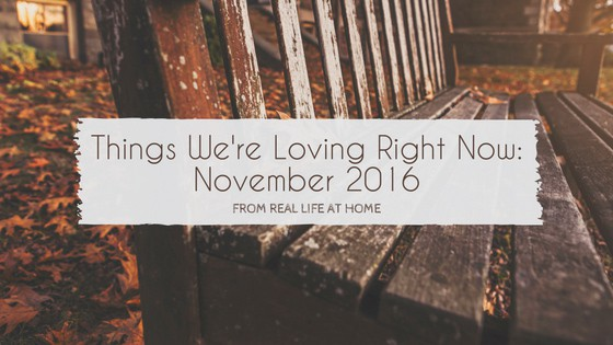 Things We're Loving Right Now: November 2016