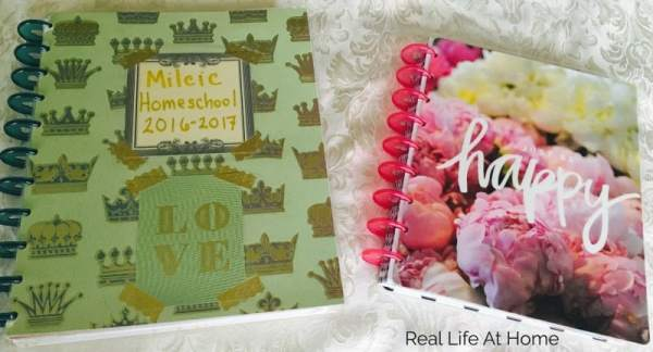 Happy Planners are a fun and affordable way for busy moms to get and stay organized.