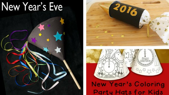 18 New Year S Eve Activities Crafts Printables And More For Kids