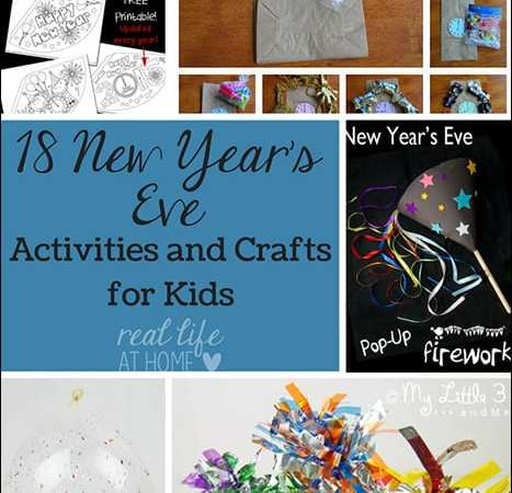 18 New Year's Eve Activities and Crafts for Kids