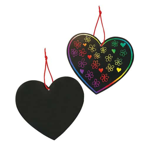Heart Scratch Art Kit