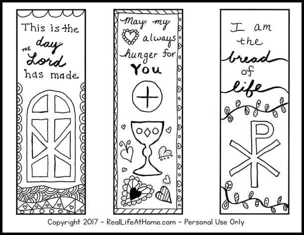 picture relating to Printable Bookmarks to Color known as Free of charge Shade Your Individual Printable Non secular Bookmarks for