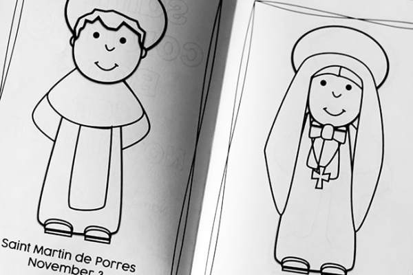 november saints coloring book for kids real life at home