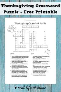 Thanksgiving Word Search For Kids Free Printables