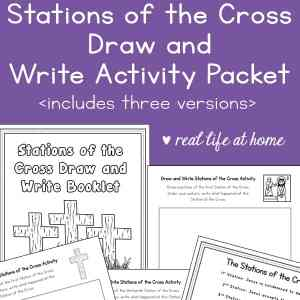 Stations of the Cross Activity for Kids