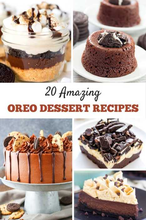 While they are a tasty snack on their own, these amazing Oreo desserts are sure to wow. You'll definitely want to pick at least one of these Oreo dessertrecipes to try at home!