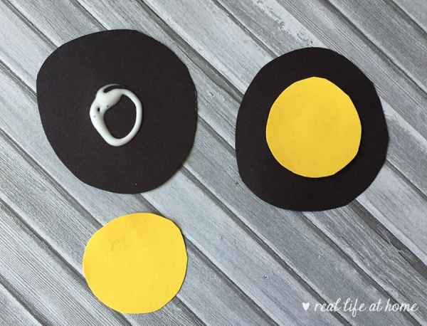 Step four of paper plate car craft | Real Life at Home