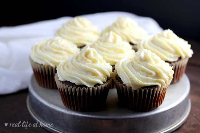 This light and fresh orange buttercream frosting recipe with orange zest added is sure to please a crowd. With my method for making the frosting airy and fluffy, this orange icing perfectly pairs with cakes and cupcakes and is easy to make!