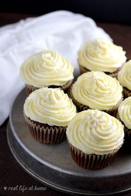 Homemade orange icing easy and fresh orange buttercream frosting this light and fresh orange buttercream frosting recipe with orange zest added is sure to please forumfinder Gallery