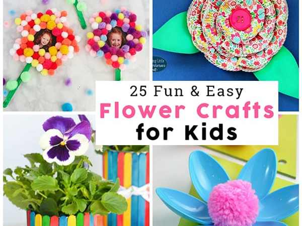 Easy Flower Crafts for Kids: Perfect for Mother's Day Crafts and Springtime Fun