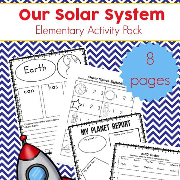 photo relating to Printable Solar System named Cost-free Sunshine Course of action Printables Packet for Basic College students