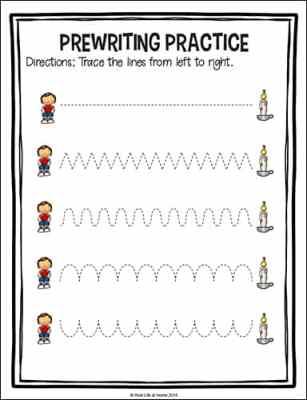 Jack Be Nimble Tracing Page from the Free Jack Be Nimble Preschool Packet at Real Life at Home