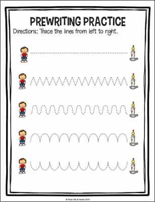 Jack Be Nimble Tracing Page from the Free Jack Be Nimble Preschool Packet at Real Life at Home