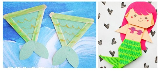 20 Easy Mermaid Crafts and Activities Your Kids Will Love | Real Life at Home