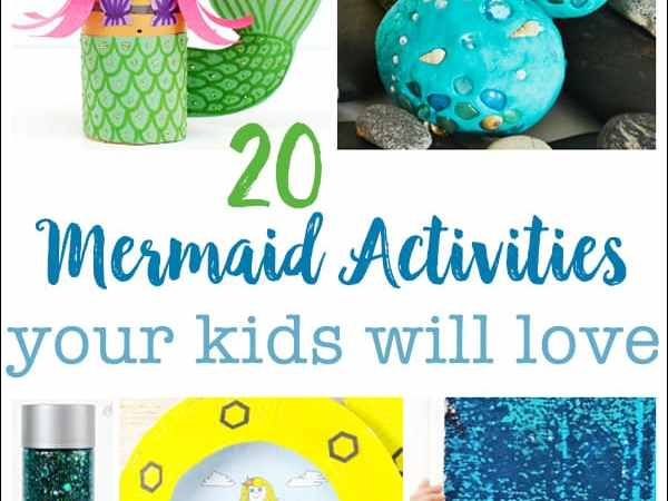 20 Awesome Mermaid Crafts and Activities Your Kids Will Love