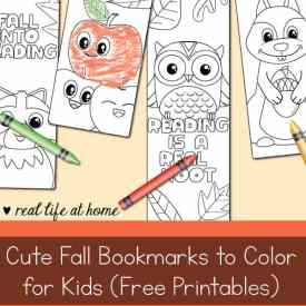 Cute Fall Bookmarks To Color For Kids Free Printable All Saints Day Coloring Page