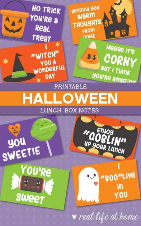 these funny halloween jokes for kids are sure to add a giggle to lunch when used