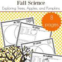 Fall Science Activities: Free Fall Science Worksheets for Kids