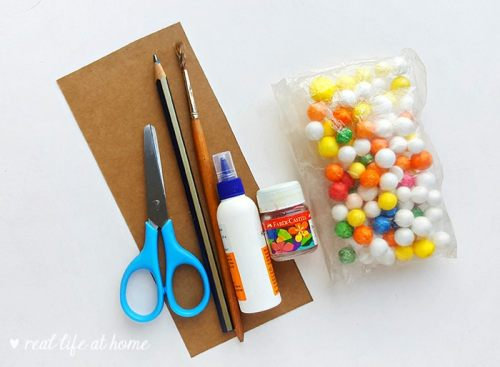 Gingerbread House Paper Craft Supplies