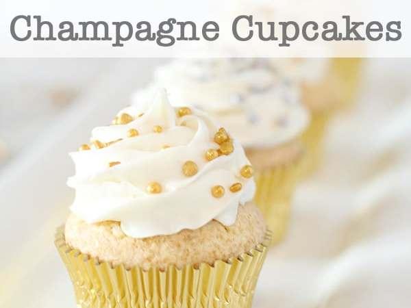 Fun and Festive Champagne Cupcakes Recipe