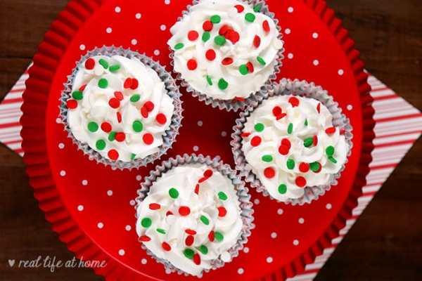 Cupcake Bath Bombs for Christmas