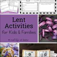 Lent Activities for Kids and Families
