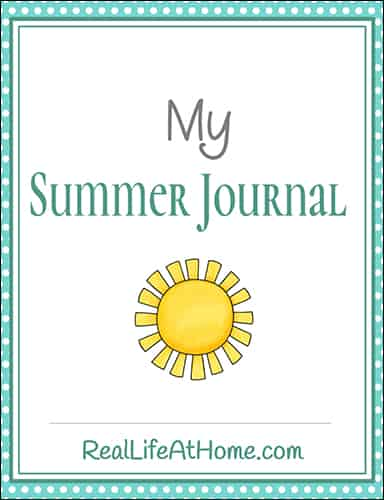 Summer Journaling Packet for Tweens and Teens