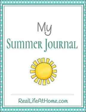 Summer Journaling Packet for Tweens and Teens